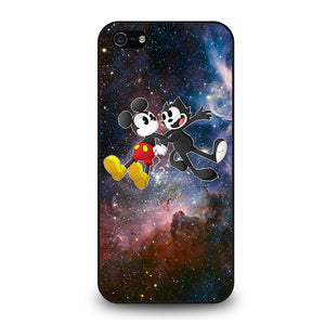 MICKEY MOUSE AND FELIX THE CAT Cover iPhone 5 / 5S / SE