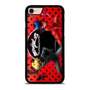MIRACULOUS LADY BUG AND CAT NOIR 1 Cover iPhone 8