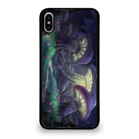 MUSHROOM FOREST FANTASY Cover iPhone XS Max,cover iphone xs max design cover iphone xs max nera,MUSHROOM FOREST FANTASY Cover iPhone XS Max