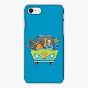 Custodia Cover iphone 6 7 8 plus Mens 5x Scooby Doo All Scared