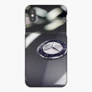 Custodia Cover iphone 6 7 8 plus Mercedes Benz Car Logo