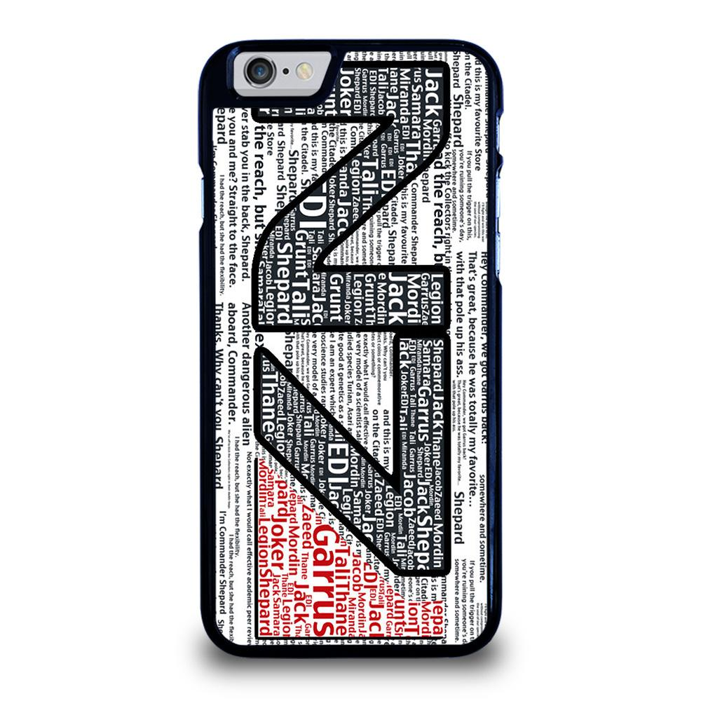 N7 MASS EFFECT LOGO TYPOGRAPHY Cover iPhone 6 / 6S