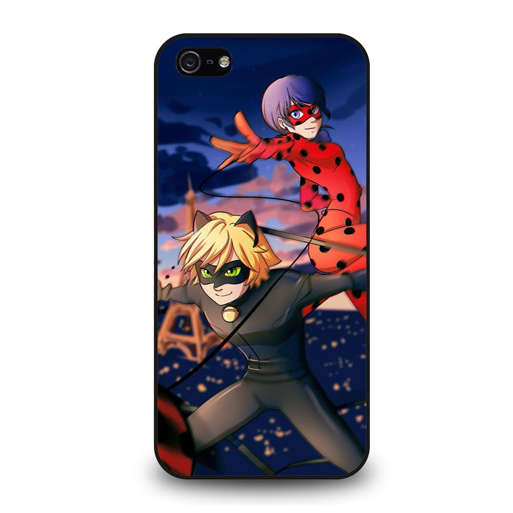 NEW MIRACULOUS LADYBUG CAT Cover iPhone 5 / 5S / SE