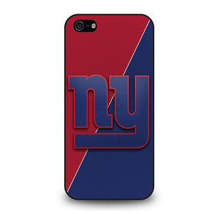 NEW YORK GIANTS JERSEY STYLE Cover iPhone 5 / 5S / SE