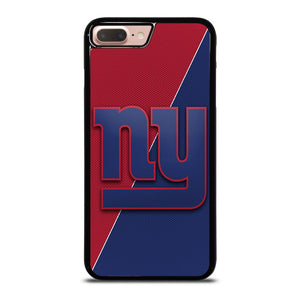NEW YORK GIANTS JERSEY STYLE Cover iPhone 8 Plus