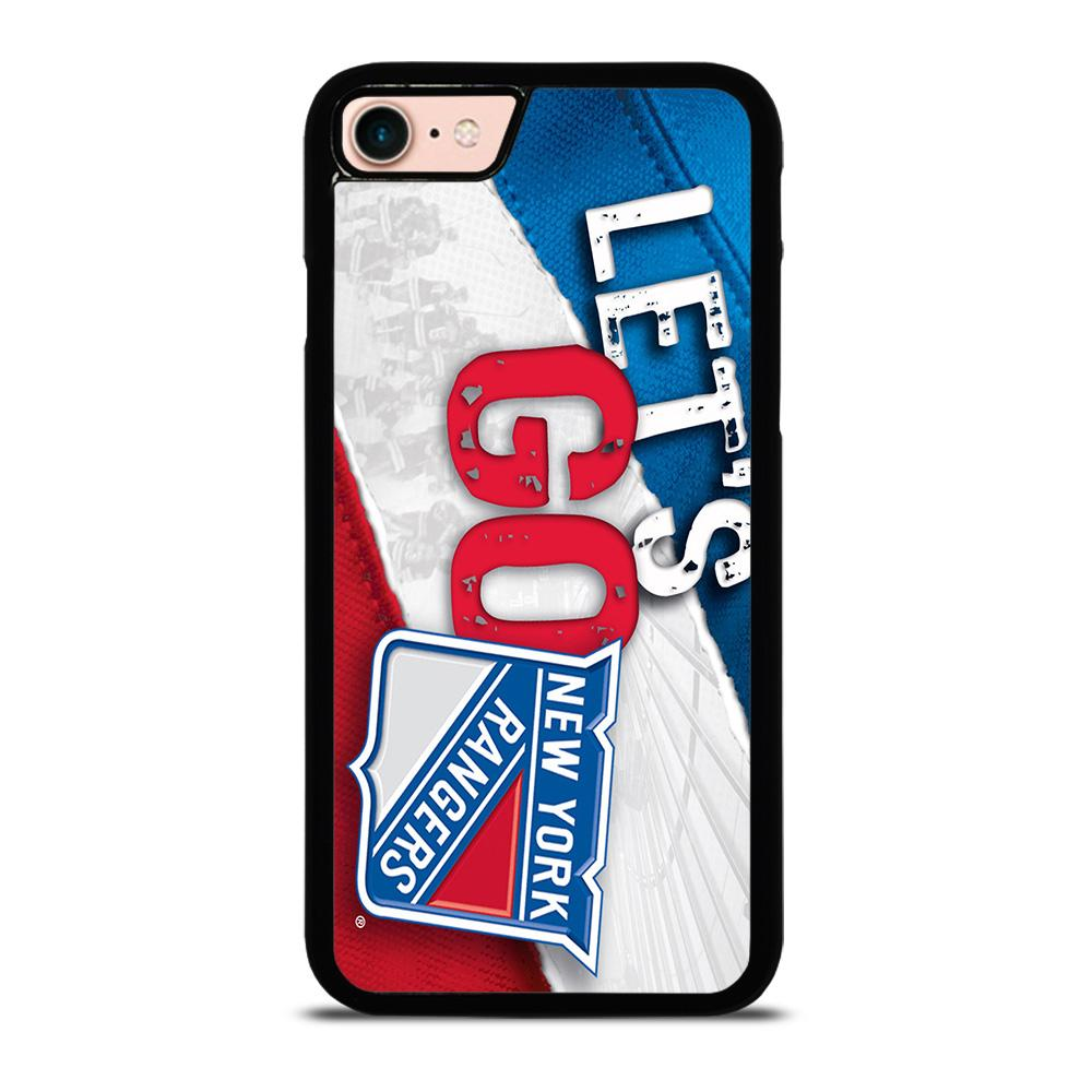 NEW YORK RANGERS LET'S GO Cover iPhone 8