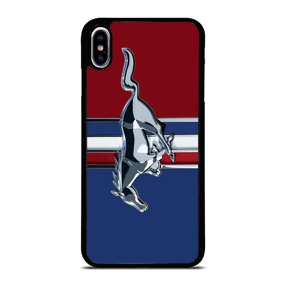 NEW FORD MUSTANG LOGO Cover iPhone XS Max,cover iphone xs max tessuto dimensioni cover iphone xs max,NEW FORD MUSTANG LOGO Cover iPhone XS Max