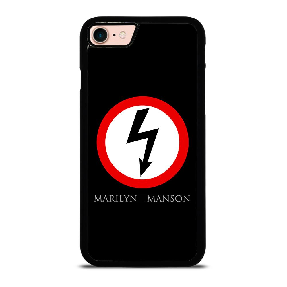 NEW MARILYN MANSON LOGO custodia cover iPhone8