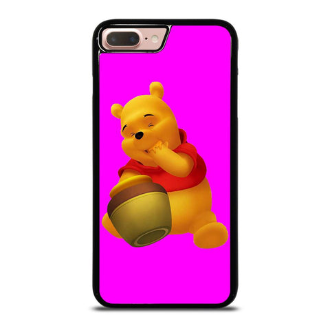 NICE WINNIE THE POOH Cover iPhone 8 Plus,tempered glass back cover iphone 8 plus cover iphone 8 plus marche,NICE WINNIE THE POOH Cover iPhone 8 Plus