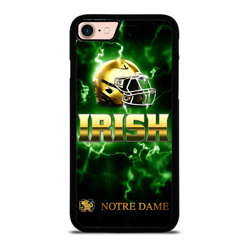 NOTRE DAME IRISH LOGO GREEN custodia cover iPhone8