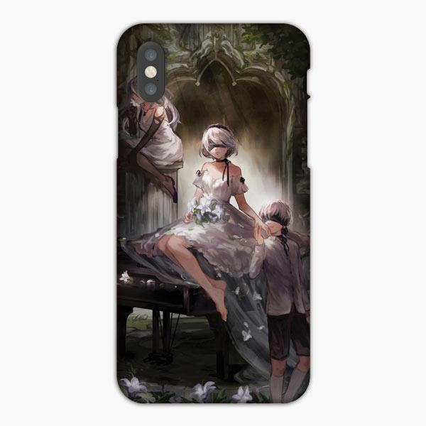 Custodia Cover iphone 6 7 8 plus Nier Automata 2B 9S A2 Dreamy