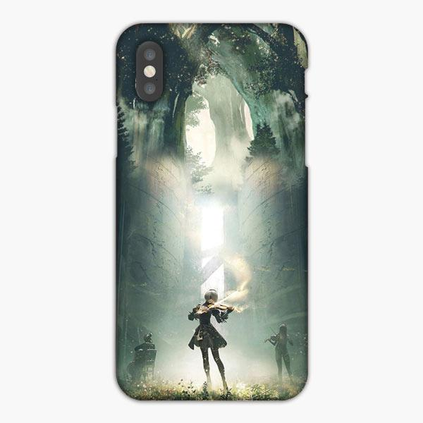 Custodia Cover iphone 6 7 8 plus Nier Automata 2B Music Concert