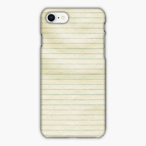 Custodia Cover iphone 6 7 8 plus Notebook Paper