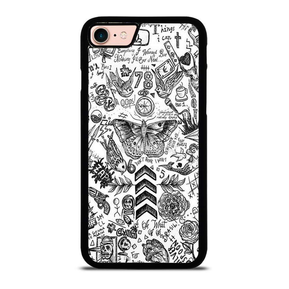 ONE DIRECTION TATTOOS Cover iPhone 8