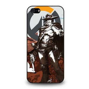 OVERWATCH McCree Cover iPhone 5 / 5S / SE
