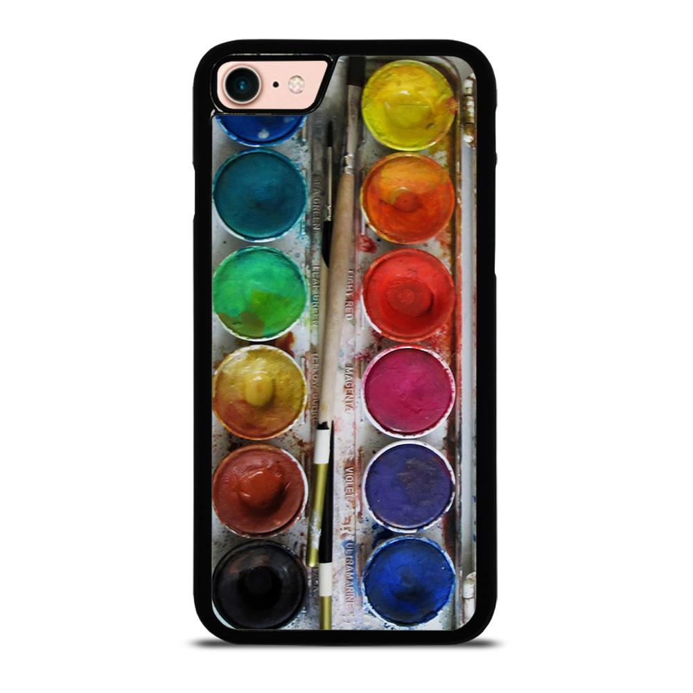 PAINT BOX WATERCOLOR Cover iPhone 8