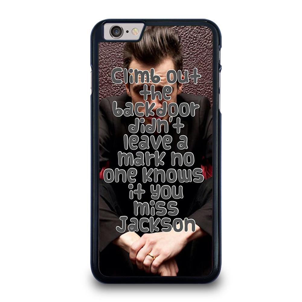 PANIC AT THE DISCO QUOTES MISS JACKSON Cover iPhone 6 / 6S Plus