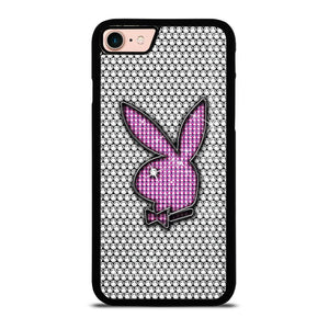 PLAY BOY BUNNY LOGO SPARKLE Cover iPhone 8