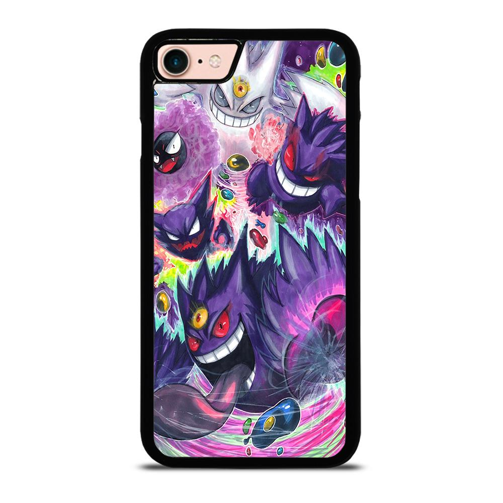 POKEMON GASTLY HAUNTER GENGAR ART Cover iPhone 8