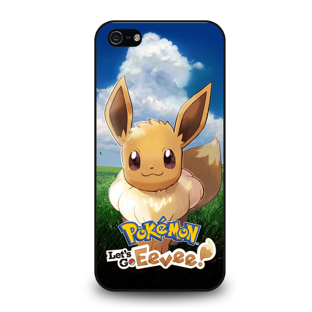 coque custodia cover fundas iphone 11 pro max 5 6 7 8 plus x xs xr se2020 C28715 POKEMON EEVEE iPhone 5/5S/SE Case