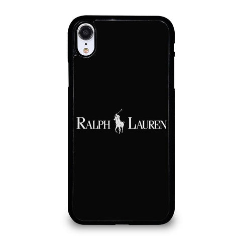 POLO RALPH LAUREN BLACK Cover iPhone XR,migliori cover iphone xr cover iphone xr personalizzata,POLO RALPH LAUREN BLACK Cover iPhone XR