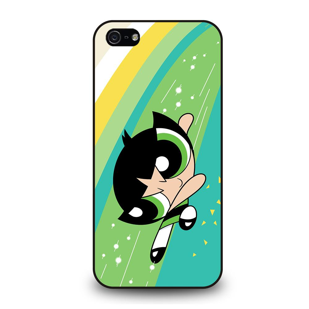 POWERPUFF GIRLS BUTTERCUP Cover iPhone 5 / 5S / SE