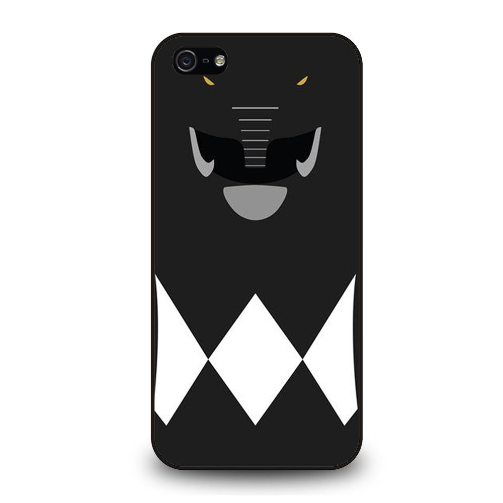 POWER RANGERS BLACK Cover iPhone 5 / 5S / SE