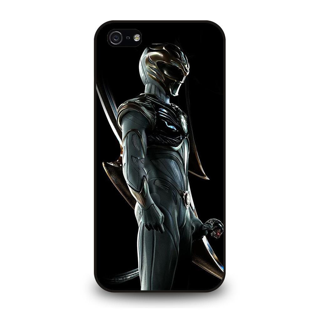 POWER RANGERS WHITE Cover iPhone 5 / 5S / SE