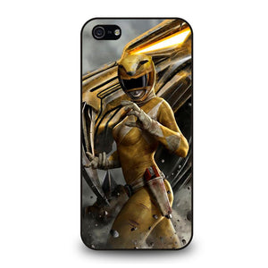 POWER RANGER YELLOW Cover iPhone 5 / 5S / SE