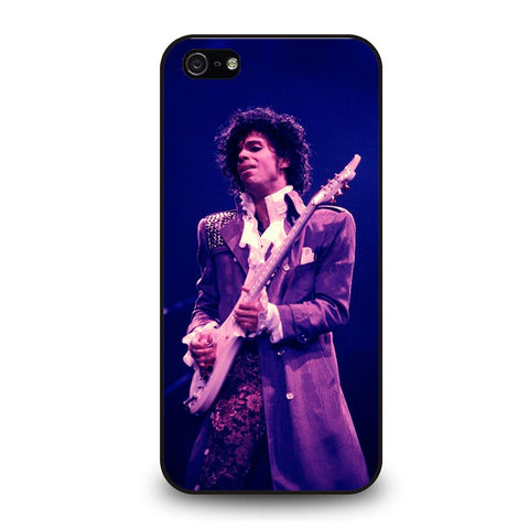 coque custodia cover fundas iphone 11 pro max 5 6 7 8 plus x xs xr se2020 C29006 PRINCE PURPLE RAIN iPhone 5/5S/SE Case