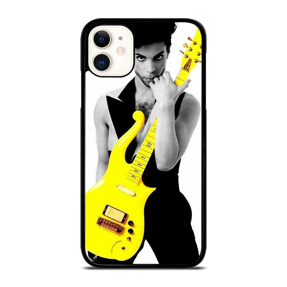 coque custodia cover fundas iphone 11 pro max 5 6 7 8 plus x xs xr se2020 C29034 PRINCE ROCK YELLOW iPhone 11 Case