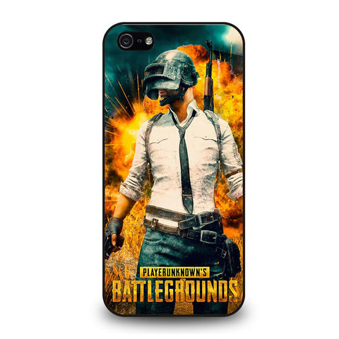 coque custodia cover fundas iphone 11 pro max 5 6 7 8 plus x xs xr se2020 C29058 PUBG GAME #1 iPhone 5/5S/SE Case