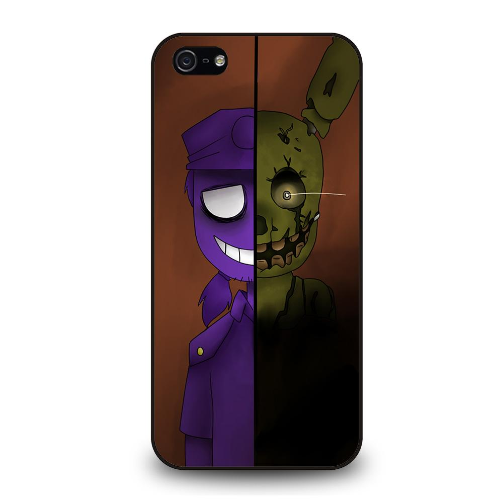 PURPLE GUY VINCENT FIVE NIGHTS AT FREDDYS Cover iPhone 5 / 5S / SE