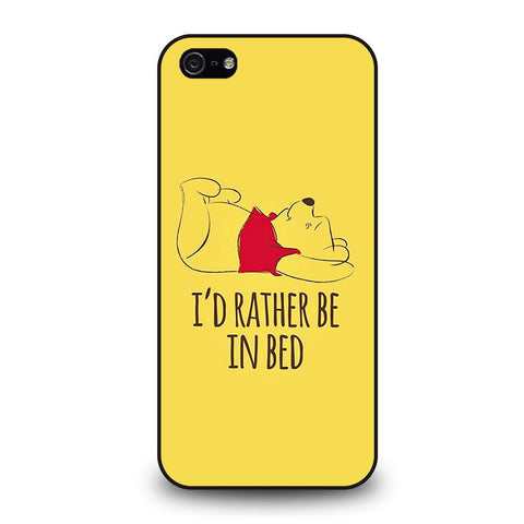 coque custodia cover fundas iphone 11 pro max 5 6 7 8 plus x xs xr se2020 C29240 QUOTES WINNIE THE POOH iPhone 5/5S/SE Case