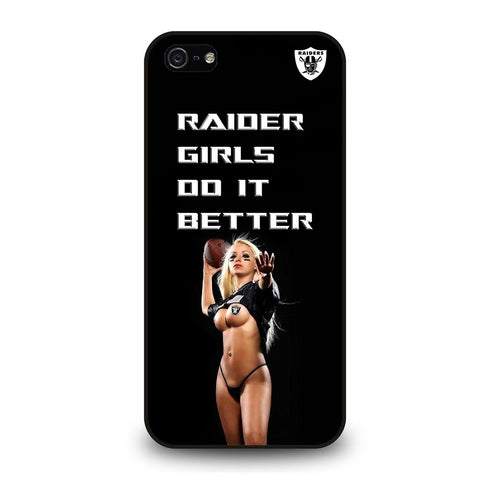 coque custodia cover fundas iphone 11 pro max 5 6 7 8 plus x xs xr se2020 C29273 RAIDER GIRLS DO IT BETTER iPhone 5/5S/SE Case