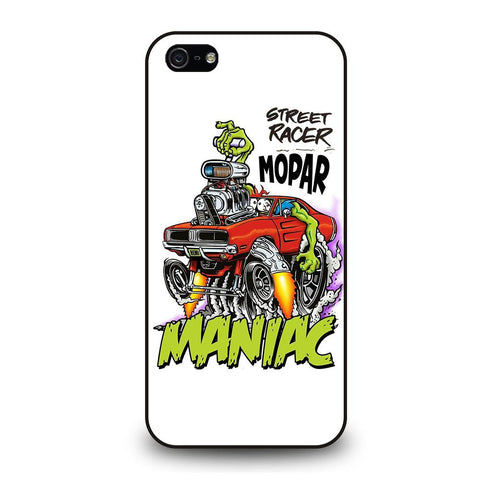 coque custodia cover fundas iphone 11 pro max 5 6 7 8 plus x xs xr se2020 C29308 RAT FINK MOPAR MANIAC iPhone 5/5S/SE Case