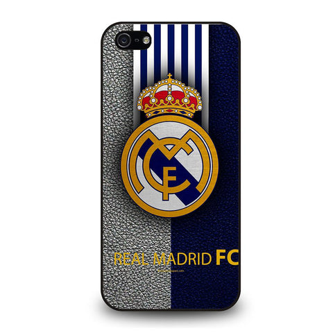 coque custodia cover fundas iphone 11 pro max 5 6 7 8 plus x xs xr se2020 C29435 REAL MADRID FC iPhone 5/5S/SE Case