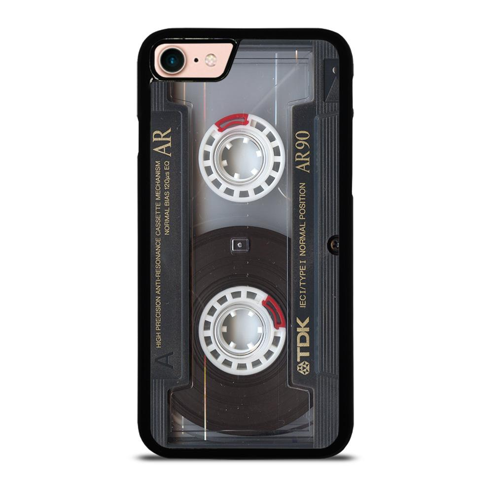 RETRO CASSETTE TAPE 3 custodia cover iPhone8