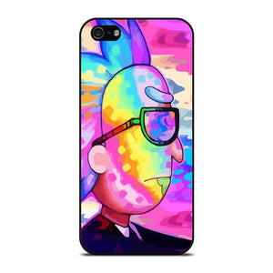 RICK AND MORTY CARTOON RAINBOW 2 Cover iPhone 5 / 5S / SE