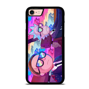 RICK AND MORTY CARTOON RAINBOW Cover iPhone 8