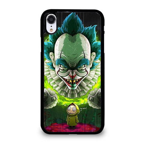 coque custodia cover fundas iphone 11 pro max 5 6 7 8 plus x xs xr se2020 C29612 RICK AND MORTY IT iPhone XR Case
