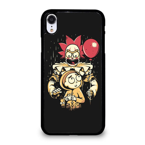 coque custodia cover fundas iphone 11 pro max 5 6 7 8 plus x xs xr se2020 C29592 RICK AND MORTY IT 1 iPhone XR Case