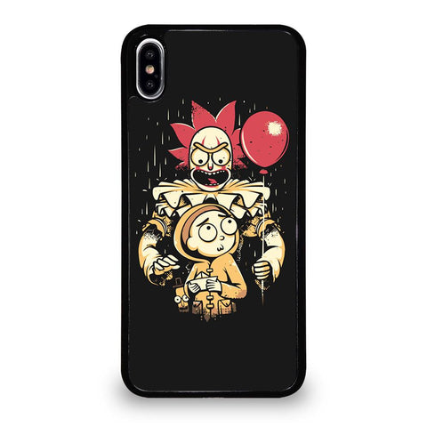 coque custodia cover fundas iphone 11 pro max 5 6 7 8 plus x xs xr se2020 C29593 RICK AND MORTY IT 1 iPhone XS Max Case