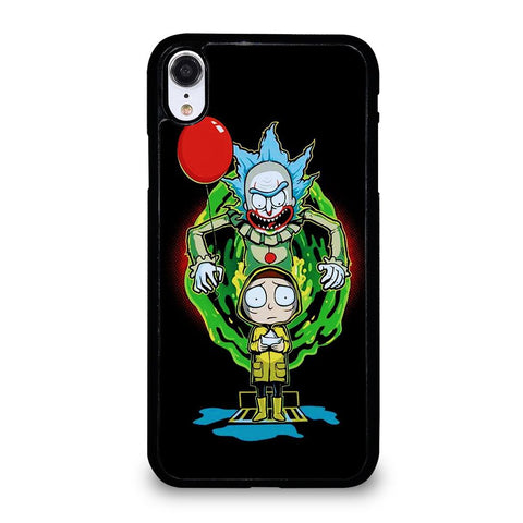 coque custodia cover fundas iphone 11 pro max 5 6 7 8 plus x xs xr se2020 C29602 RICK AND MORTY IT 2 iPhone XR Case