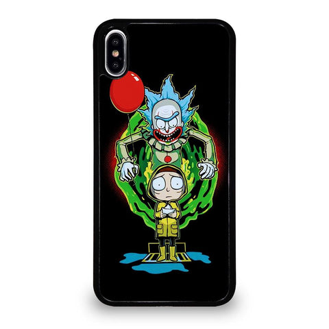 coque custodia cover fundas iphone 11 pro max 5 6 7 8 plus x xs xr se2020 C29603 RICK AND MORTY IT 2 iPhone XS Max Case