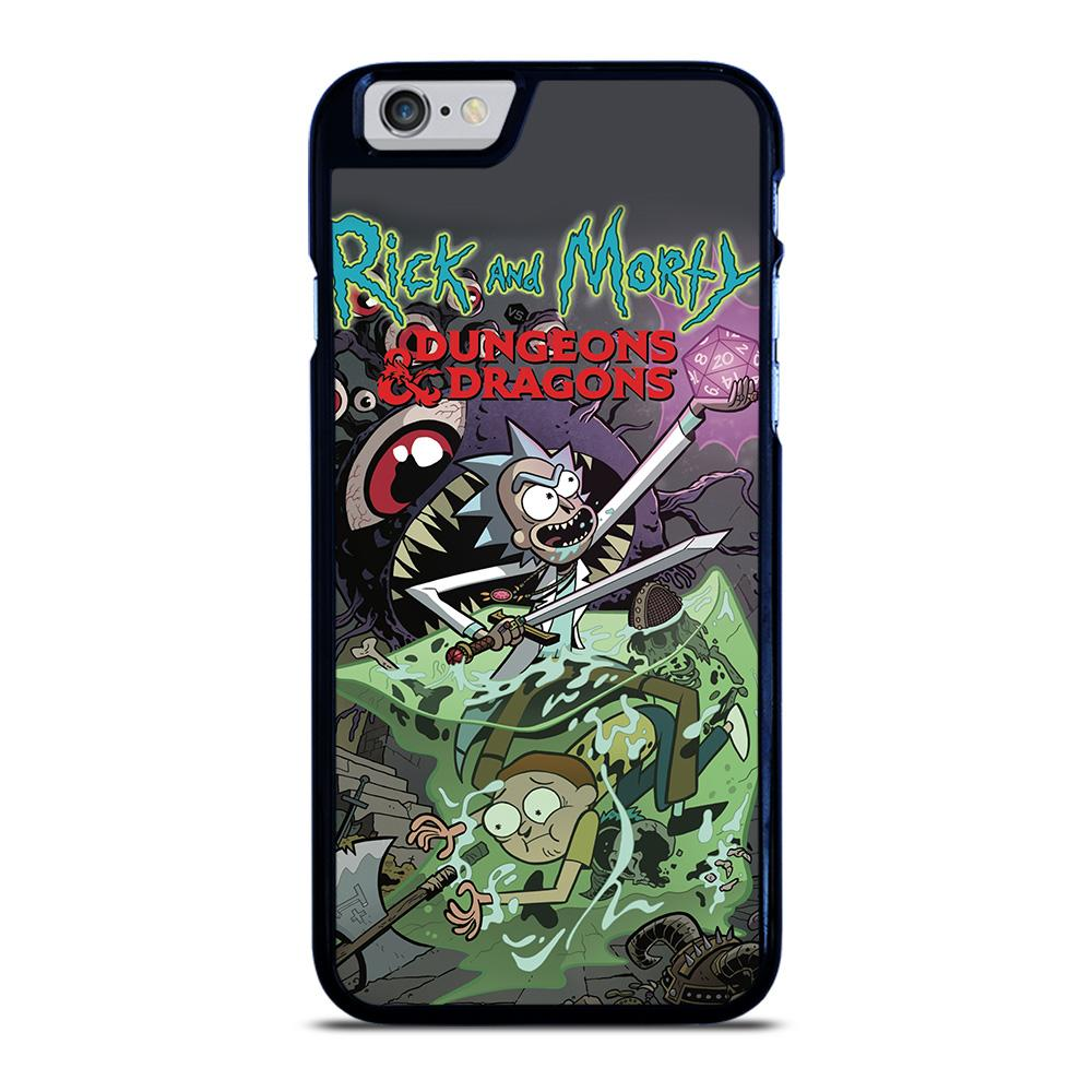 RICK AND MORTY VS DUNGEONS DRAGONS Cover iPhone 6 / 6S