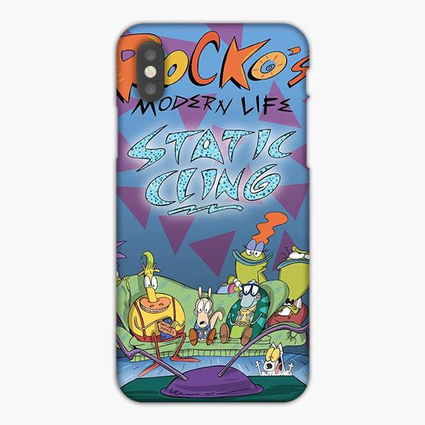 Custodia Cover iphone 6 7 8 plus Rocko'S Modern Life Static Cling