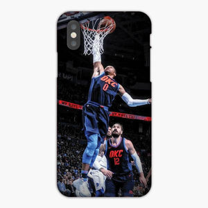 Custodia Cover iphone 6 7 8 plus Russell Westbrook Thunders Slam Dunk