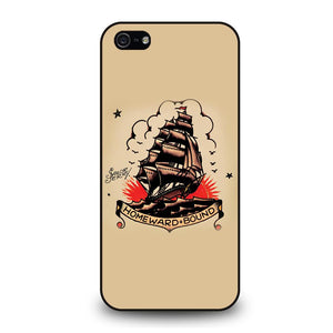 SAILOR JERRY TATTOO HOMEWARD BOUND Cover iPhone 5 / 5S / SE