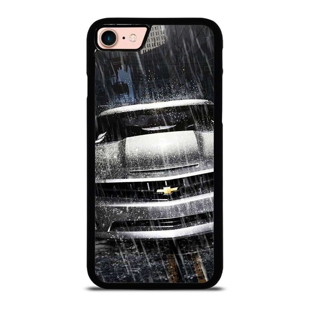 SILVER CHEVROLET CAMARO Cover iPhone 8
